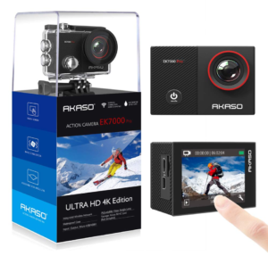 this is an image of a 4k action cam