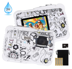 this is an image of a waterproof teen camera