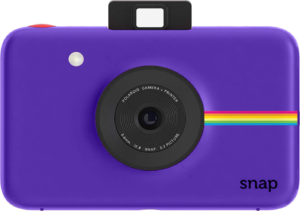 this is an image of a polaroid snap instant camera