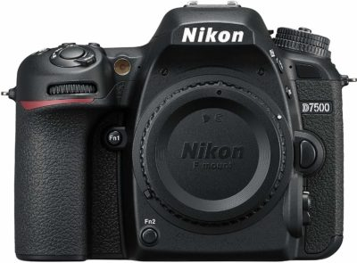 This is an image of a D7500 Nikon camera.