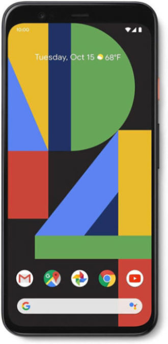 Image of Google-Pixel-4-XL-Just-Black-64GB-