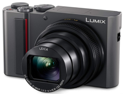 This is an image of Panasonic Lumix Digital Camera in black color
