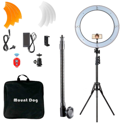 This is an image of Bluetooth ring light LED pack