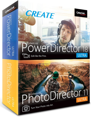 This is an image of Cyberlink photodirector 11 Ultra pack