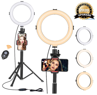 This is an image of ring light tripod stand