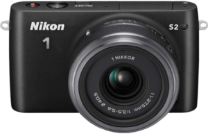 this is an image of the nikon 1 s2 mirrorless