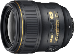 this is an image of the nikon 35mm f/1.4