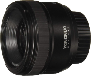 this is an image of the yongnuo 35mm lens