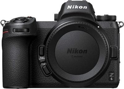 This is an image of Nikon Z6 Full Frame Mirrorless Camera Body