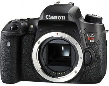 This is an image of Canon EOS Rebel T6s Digital SLR (Body Only) - Wi-Fi Enabled International Version (No Warranty)