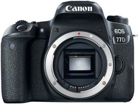This is an image of Canon EOS 77D Body