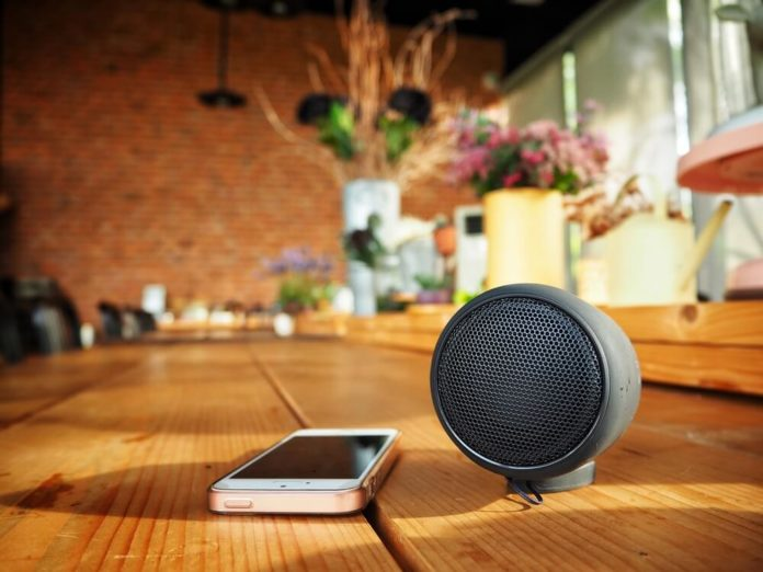 Bluetooth Speaker with hidden camera