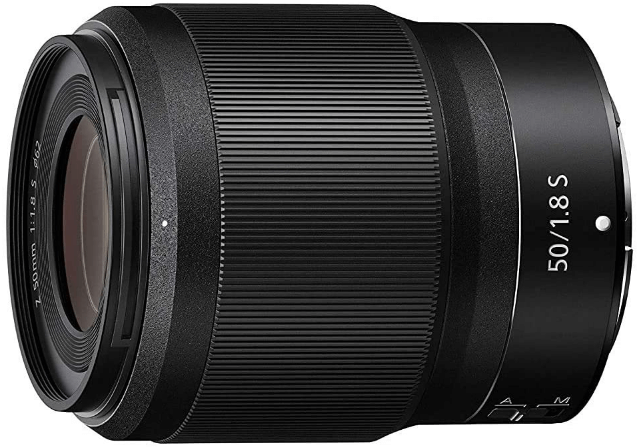 This is an image of black Nikkor Telephoto Z 50-250mm camera lens for nikon cameras