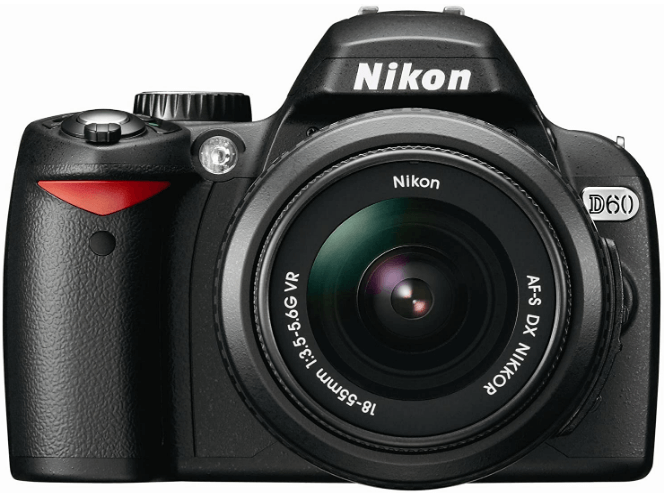 This is an image of a black Nikon D3300 digital camera with 24.2 MP CMOS sensor and 18-55mm  Zoom Lens