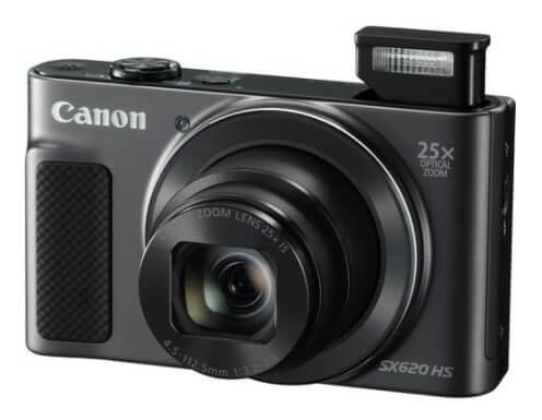 PowerShot SX620 HS Digital Camera (Black)