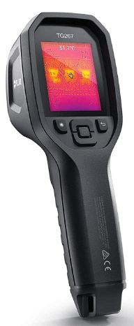 This is an image of a black FLIR TG267 Thermal Camera